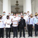 Pemkab Serang Terima Plakat WTP dari Ditjen Perbendaharaan Banten